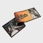 digitally printed Rocquette advert mat