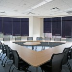printed blinds for Natwest Boardroom