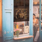 stylish restaurant blinds to match any interior and theme of a coffeee shop