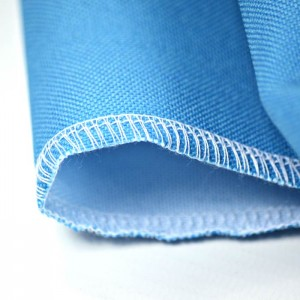 digitally printed ties close of threads