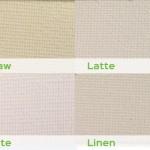 types of energy blind materials from straw, latter, white, linen
