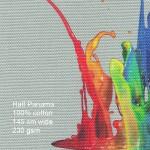 Printed Cotton Half Panama Fabric 100% cotton, 145cm wide 230gsm
