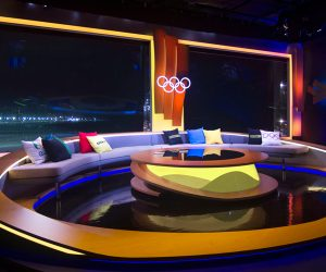 Bespoke Printed Cushions for the Rio Olympics 2016 BBC Sport Studio